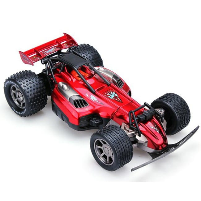 Радиоуправляемый автомобиль-трансформер RUI CHUANG 1:16 - красная