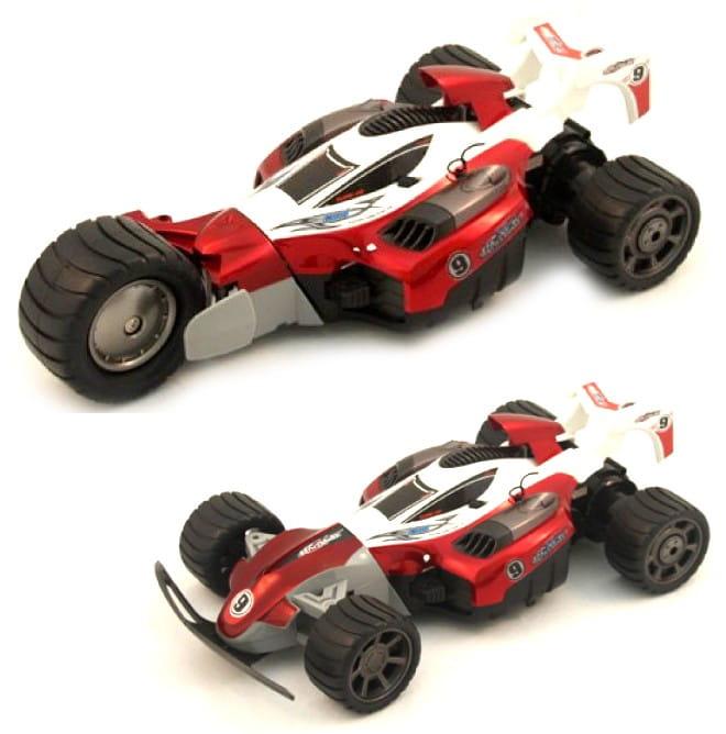 Радиоуправляемый автомобиль-трансформер RUI CHUANG 1:16 - бело-красная