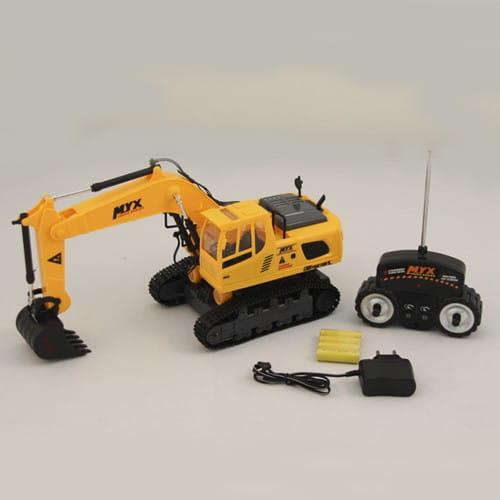 Купить Радиоуправляемый экскаватор Rui Chuang MYX 905-1A в интернет магазине игрушек и детских товаров