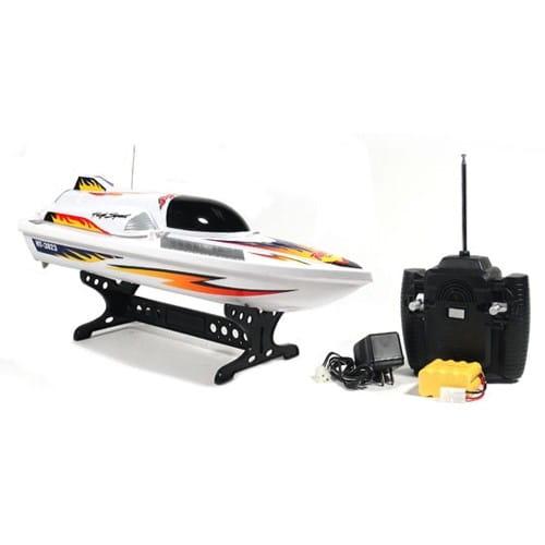 Купить Радиоуправляемый катер Heng Tai Tornado 1:32 в интернет магазине игрушек и детских товаров