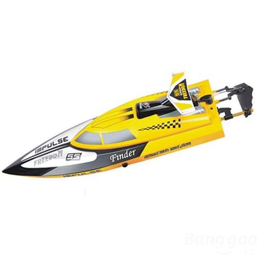 Купить Радиоуправляемый катер WL Toys Tiger-Shark 2,4 G в интернет магазине игрушек и детских товаров