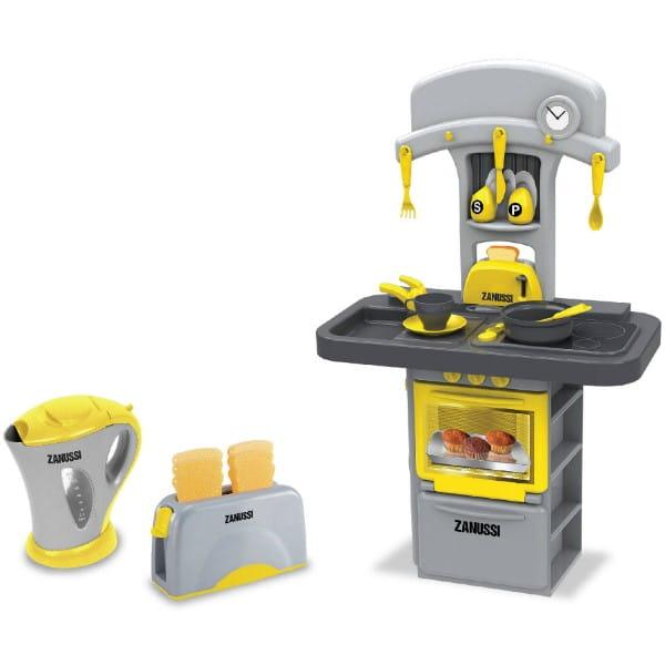 Купить Детская кухня Zanussi с чайником и тостером (HTI) в интернет магазине игрушек и детских товаров