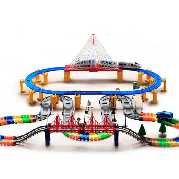 Купить Автотрек Huan Qi 3630Y в интернет магазине игрушек и детских товаров