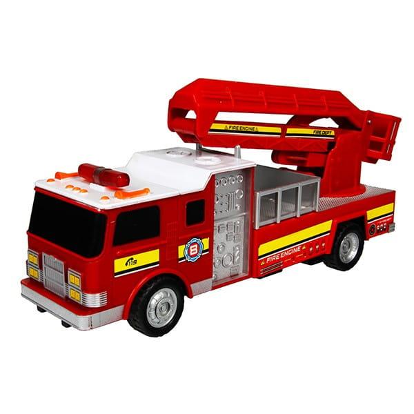 Радиоуправляемая пожарная машина Rui Feng R246 с подъемной стрелой