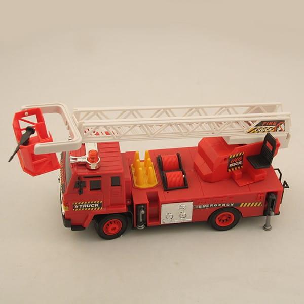 Радиоуправляемая пожарная машина Rui Feng с подъемной стрелой 2