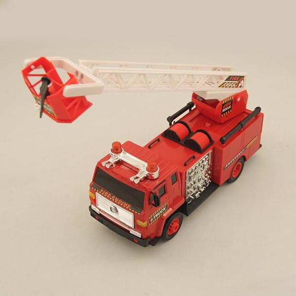Купить Радиоуправляемая пожарная машина Rui Feng с подъемной стрелой 3 в интернет магазине игрушек и детских товаров