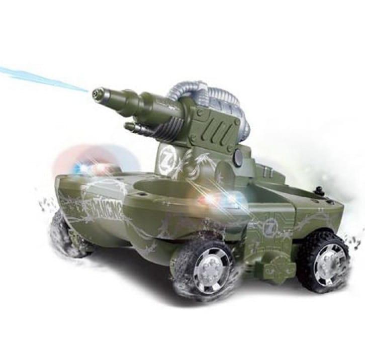 Радиоуправляемый танк-амфибия VSTank 24883A (стреляет водой)