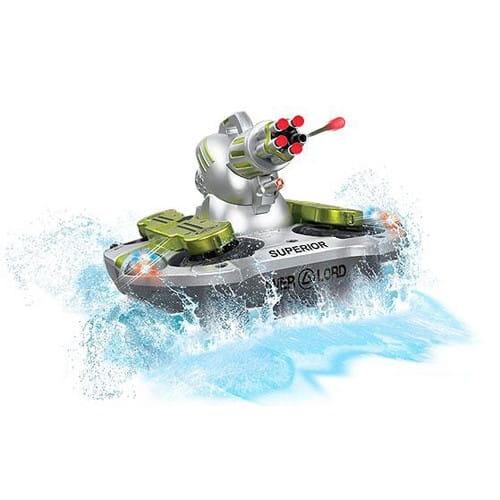 Радиоуправляемый танк-амфибия VSTank (стреляет присосками)