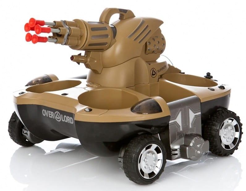Радиоуправляемый танк-амфибия VSTank 24883B (стреляет присосками)