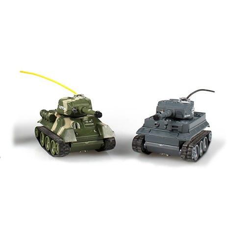 Радиоуправляемый мини танковый бой Happy Cow 1:64