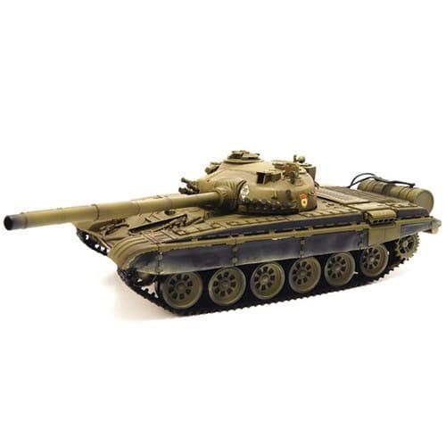 Радиоуправляемый советский танк VSTank T72m Airsoft Green 1:24