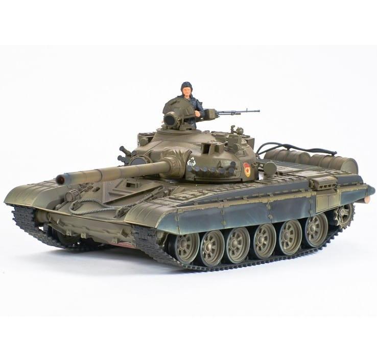 Радиоуправляемый советский танк VSTank A03102975 T72m Airsoft Green 1:24