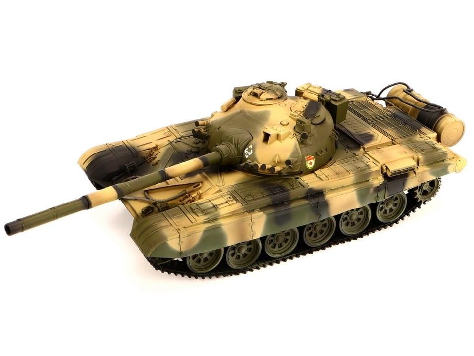 Радиоуправляемый советский танк VSTank A03102963 T72m Airsoft Russian Camouflage 1:24