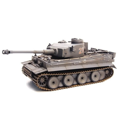 Радиоуправляемый немецкий танк VSTank Tiger 1 Airsoft Grey 1:24