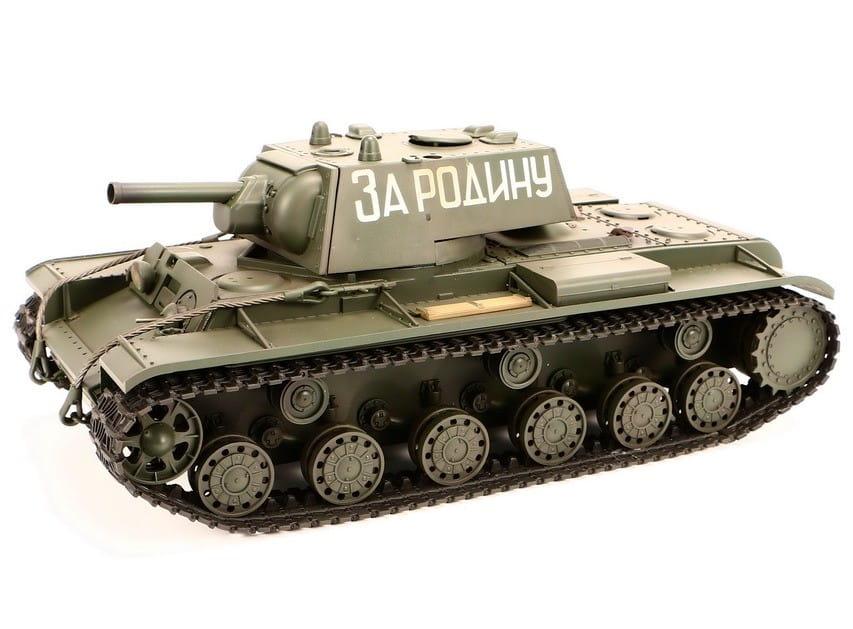 Радиоуправляемый советский танк VSTank A03102977 KV1 Airsoft Green 1:24