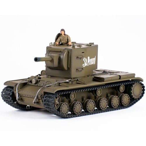 Радиоуправляемый советский танк VSTank KV-2 Soviet Army Green 1:24