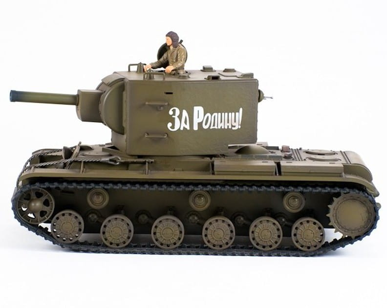 Радиоуправляемый советский танк VSTank A03102966 KV-2 Soviet Army Green 1:24