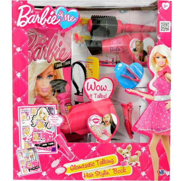 Купить Набор для ухода за волосами с журналом Barbie (HTI) в интернет магазине игрушек и детских товаров