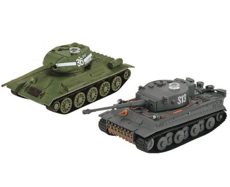 Радиоуправляемый танковый бой VSTank A03102354 Soviet Т34/85 и Tiger 1:72