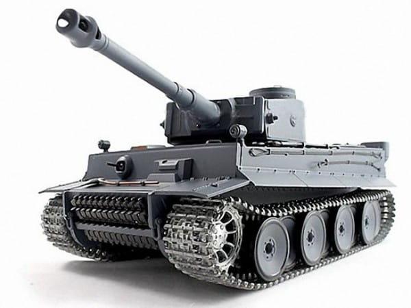 Купить Радиоуправляемый танк Heng Long German Tiger 1:16 в интернет магазине игрушек и детских товаров