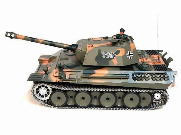 Купить Радиоуправляемый танк Heng Long German Panther 1:16 в интернет магазине игрушек и детских товаров