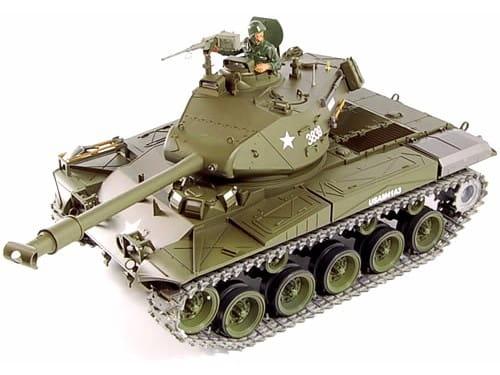 Радиоуправляемый танк Heng Long Buldog с дымом 1:16