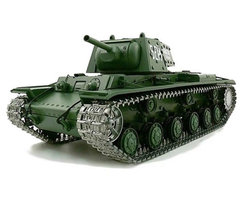 Радиоуправляемый танк Heng Long 3878-1 KV-1 с дымом 1:16