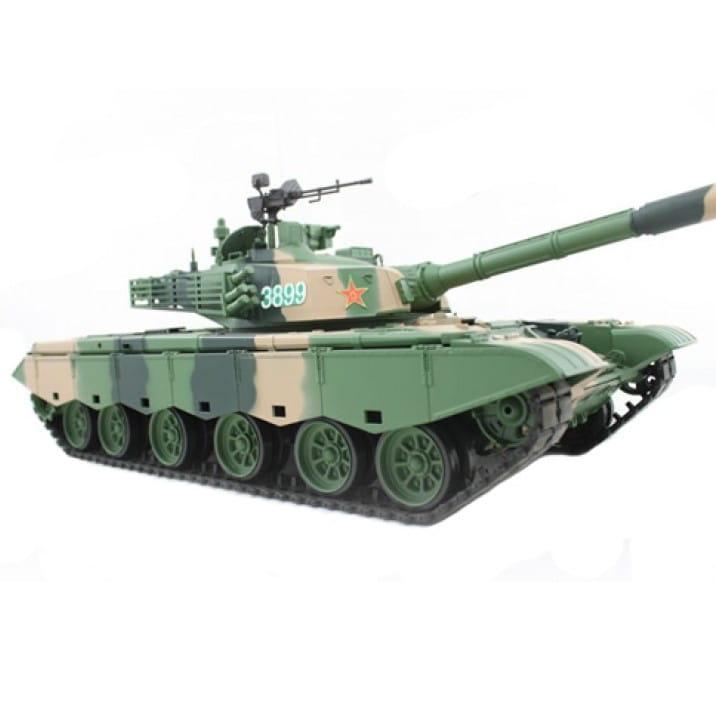 Радиоуправляемый танк Heng Long 3899-1 ZTZ99 с дымом 1:16