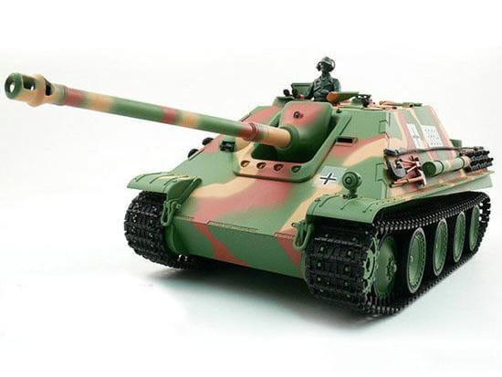 Радиоуправляемый танк Heng Long Jangpanther с дымом 1:16