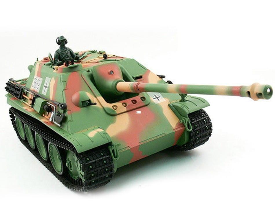 Радиоуправляемый танк Heng Long 3869-1 Jangpanther с дымом 1:16