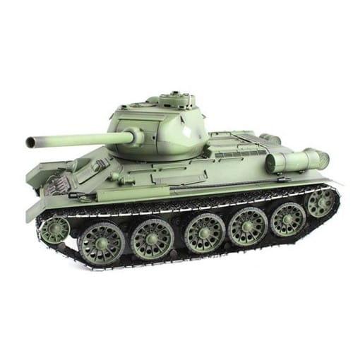 Радиоуправляемый танк Heng Long T34 с дымом 1:16