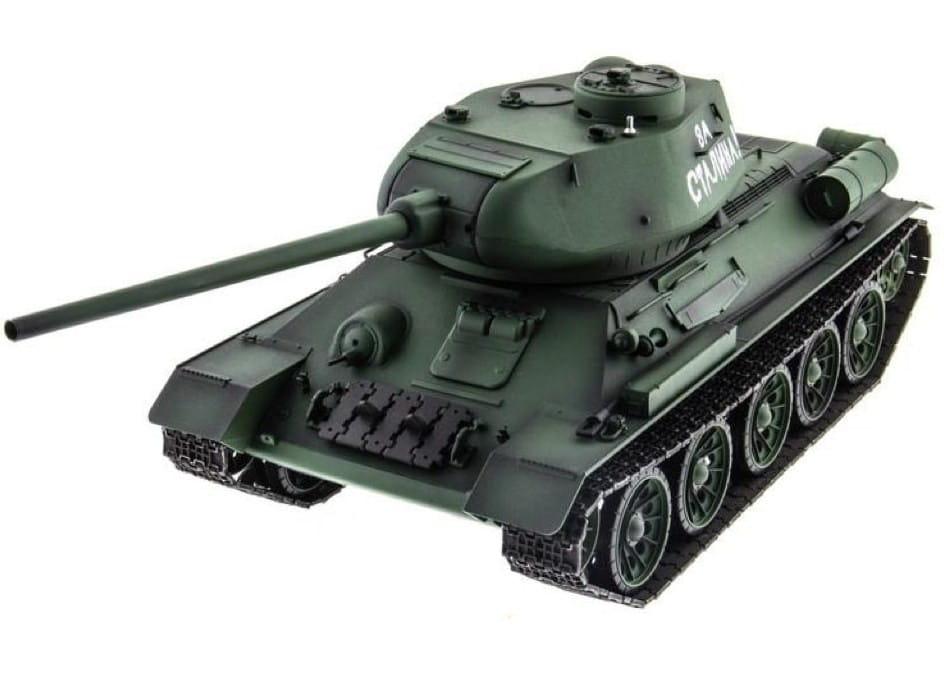 Радиоуправляемый танк Heng Long 3909-1 T34 с дымом 1:16