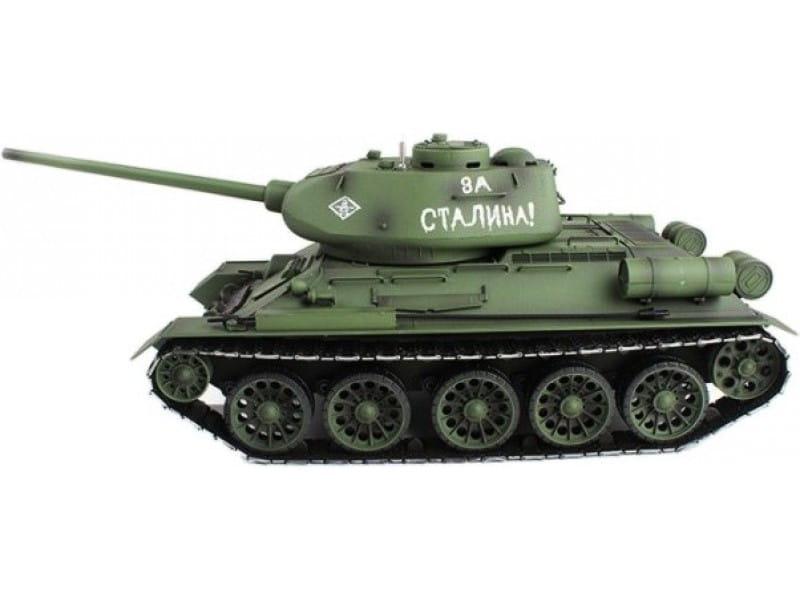 Радиоуправляемый танк Heng Long 3909-1 pro T34 с дымом Pro 1:16