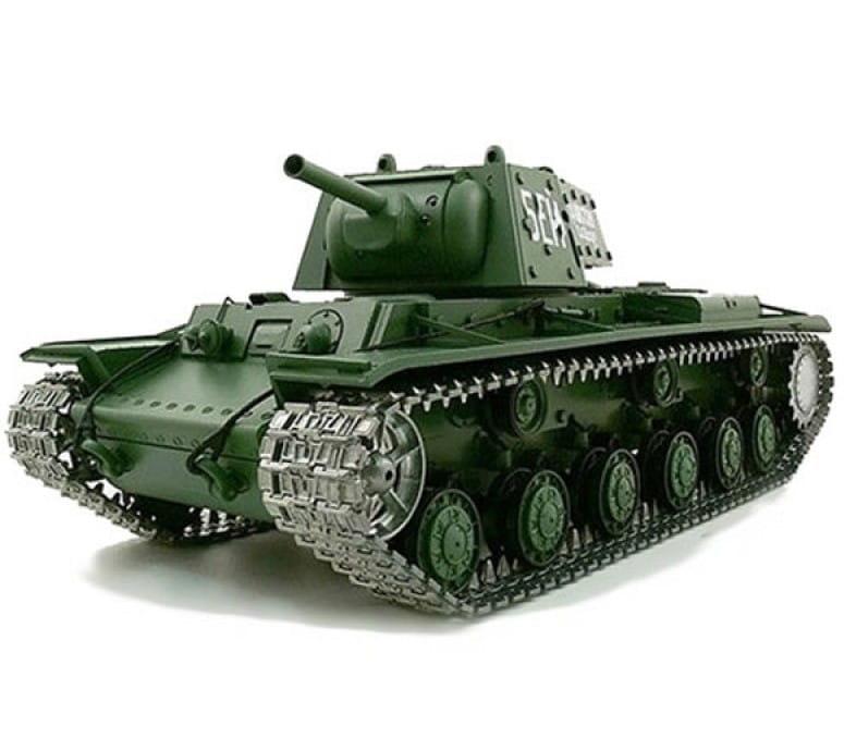 Радиоуправляемый танк Heng Long 3878-1pro KV-1 с дымом Pro 1:16