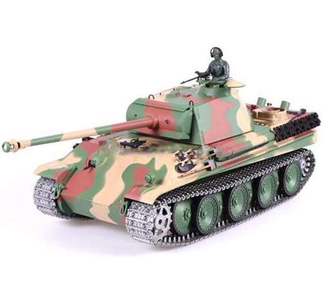Радиоуправляемый танк Heng Long 3879-1pro Panther G с дымом Pro 1:16