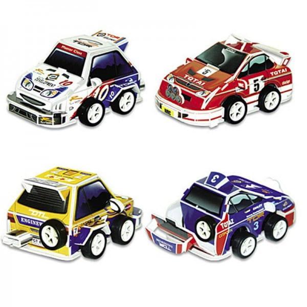 Купить Объемный 3D пазл CubicFun Гоночные машины (4 машины) в интернет магазине игрушек и детских товаров