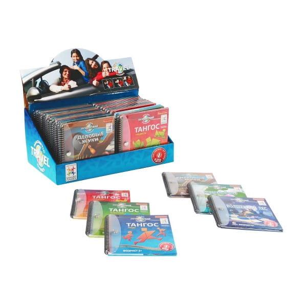 Набор магнитных игр для путешествий Bondibon - 24 штуки
