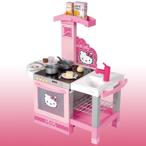 Детская кухня Hello Kitty с аксессуарами (Smoby)