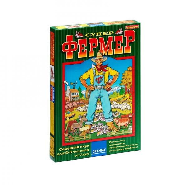 Настольная игра Bondibon BB1009 Супер фермер