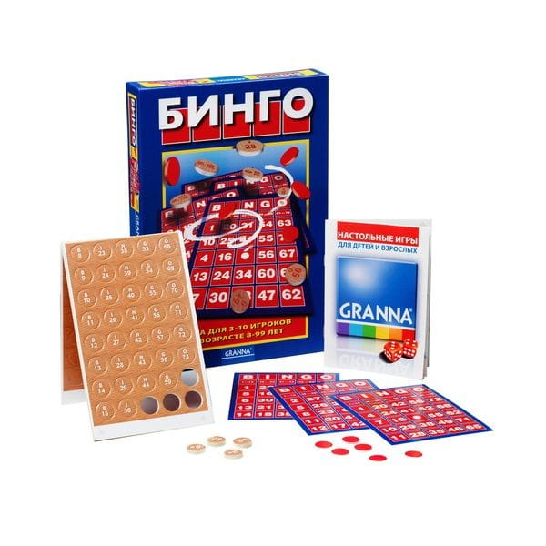 Настольная игра Bondibon BB1010 Бинго