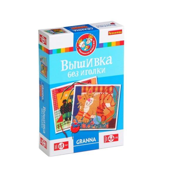 Настольная игра Bondibon BB1271 Вышивка без иголки