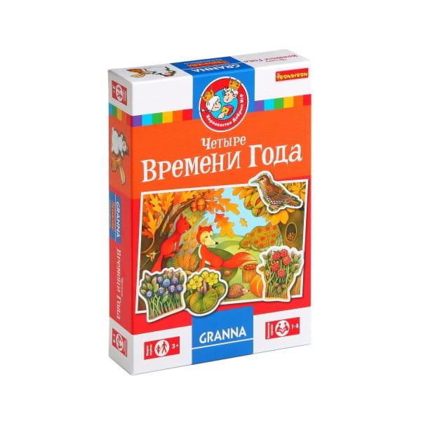 Купить Настольная игра Bondibon Четыре времени года в интернет магазине игрушек и детских товаров