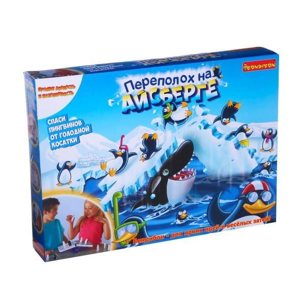 Настольная игра Bondibon Переполох на айсберге