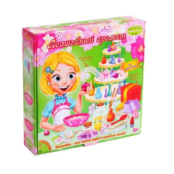 Купить Набор Bondibon Французские опыты Науки с Буки - Волшебный аромат в интернет магазине игрушек и детских товаров