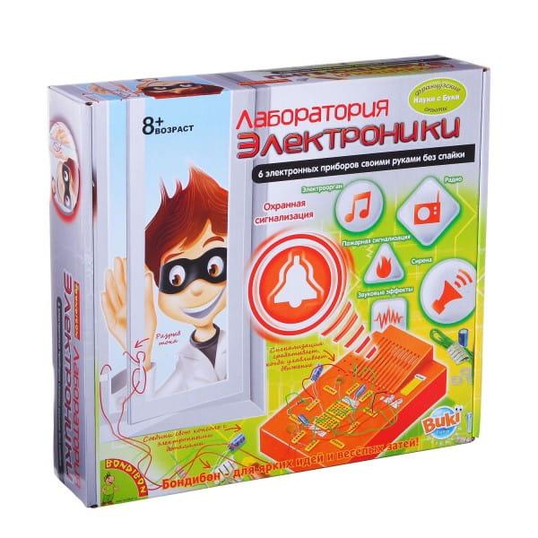 Купить Набор Bondibon Французские опыты Науки с Буки - Лаборатория электроники (6 экспериментов) в интернет магазине игрушек и детских товаров