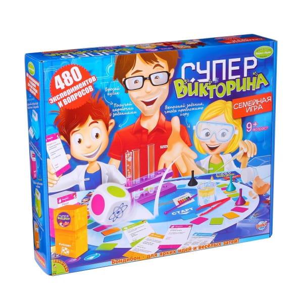 Купить Набор Bondibon Французские опыты Науки с Буки - Супер викторина в интернет магазине игрушек и детских товаров