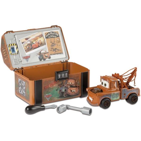 Конструктор и шпионский набор в чемоданчике Тачки-2 Мэтр (Smoby)