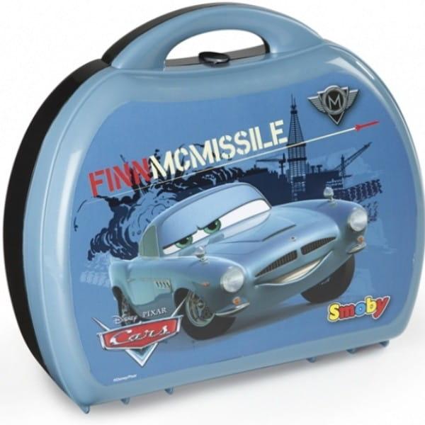 Конструктор и шпионский набор в чемоданчике Тачки-2 Финн (Smoby)