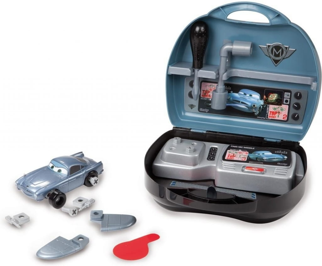 Конструктор и шпионский набор в чемоданчике Тачки-2 Финн (SMOBY) - Тачки (Cars)