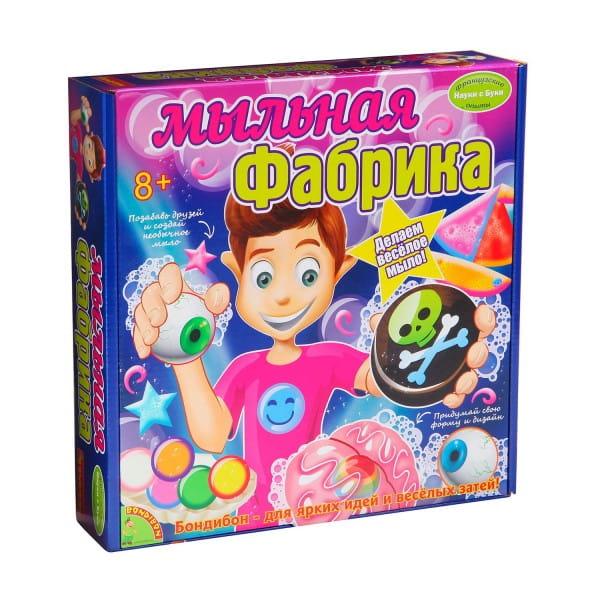 Купить Набор Bondibon Французские опыты Науки с Буки - Мыльная фабрика в интернет магазине игрушек и детских товаров